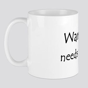Warning! needs muzzle Mug