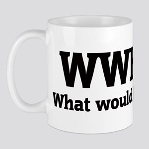What would Heidi do? Mug