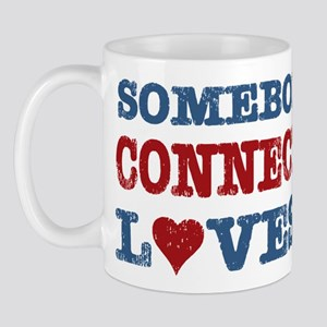 Somebody in Connecticut Loves Me Mug