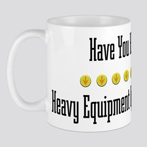 Hugged Heavy Equipment Operator Mug