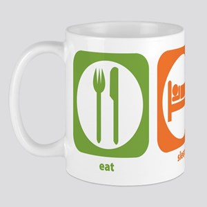 Eat Sleep Economics Mug