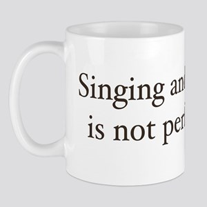 Sing and dancing Mug