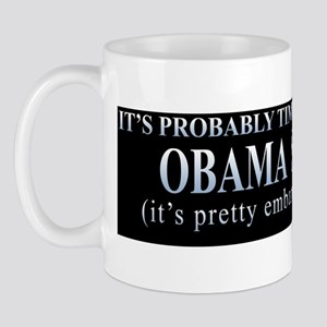 Remove Your Obama Sticker Mug