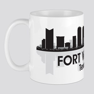 Fort Worth Skyline Mug