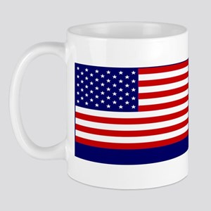 God Bless America Blue Mug