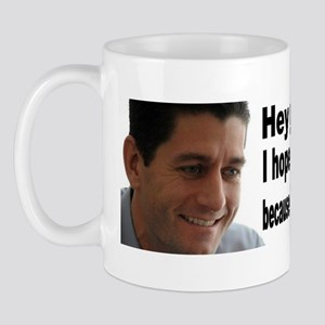 hey girl paul ryan Mug