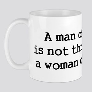 A man of quality Mug