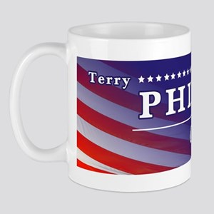 Terry Phillips For Congress Sticker Mug