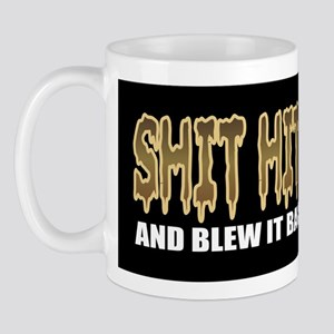 Shit hit the fan Mug