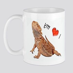 I Love My Bearded Dragon Mug