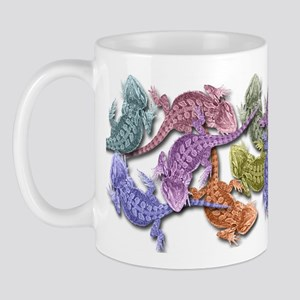 Bearded Dragon Colors Mug