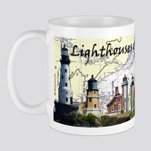 Lighthouses of Lake Superior Mug