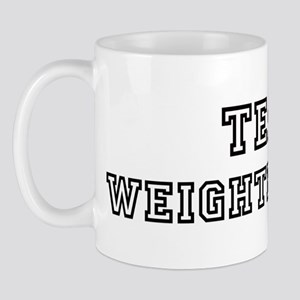 Team WEIGHTED DOWN Mug