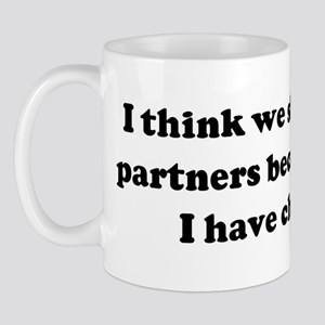 I think we should be lab part Mug