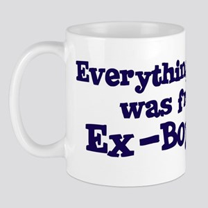 Ex-Boyfriend : Everything Mug