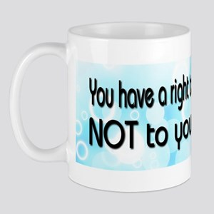 Opinion  Facts Mug