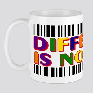 Different-Is-Normal-Bars-BSticker-2 Mug