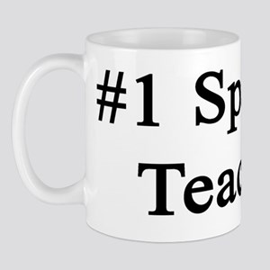 #1 Spanish Teacher  Mug