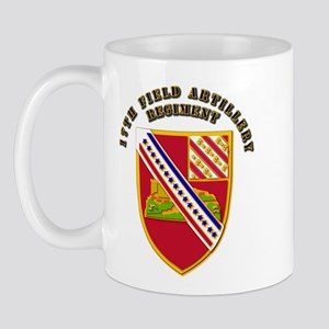 Artillery - 17th Field Artillery Regiment Mug