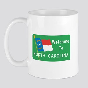 Welcome to North Carolina - USA Mug