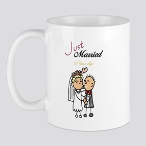 Just Married 50 years ago Mug