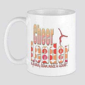 Polka Dot Cheerleader Mug