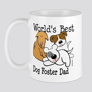 World's Best Dog Foster Dad Mug