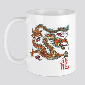 Chinese Dragon NEW red Mugs