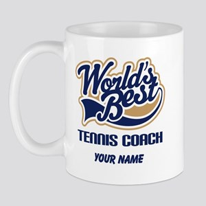 Tennis Coach (Worlds Best) Mug