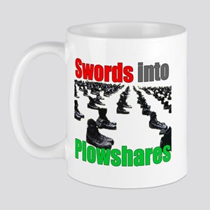 Swords into Plowshares Mug