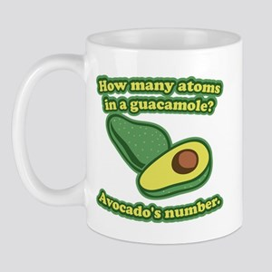How many atoms in a guacamole? Avocado's number. M