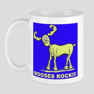 Blue MOOSES ROCK Mug