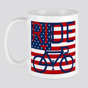 US FLAG RIDE Mug