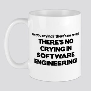 09054f01f4c There's No Crying in Software Engineering Mug