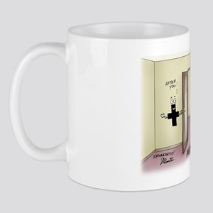 Pi_68 Math Chivalry (10x10 Color) Mug