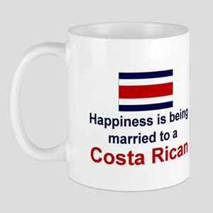 Happily Married To Costa Rican Mug