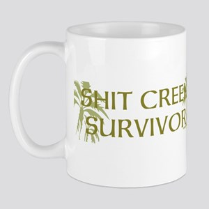 Shit Creek Survivor 1 Coffee Mug Mugs
