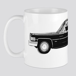 hearse for dark Mug