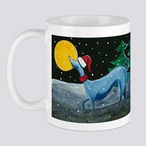 Christmas Italian Greyhound Mug