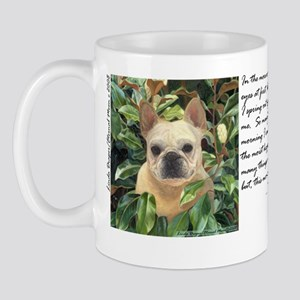 "Frenchie ""Magnolia"" Mug"