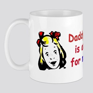 """Daddy Says Liberal Is Another Word For..."" Mug"