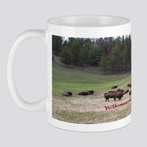 Yellowstone Bison Mug