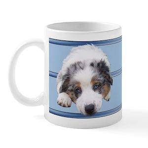 Front/Rear Aussie Mug