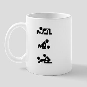'THREESOME' Mug