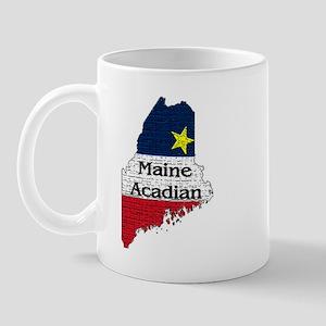Maine Acadian State graphic Mug