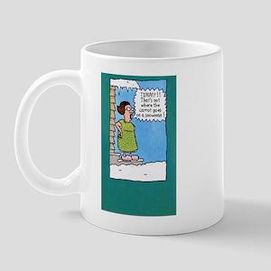 Funny Snowman Mug
