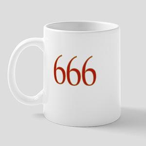 Devil 666 Mug