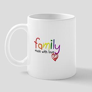 Gay Family Love Mug