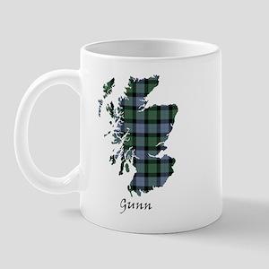 Map - Gunn Mug