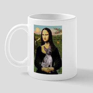 MonaLisa - AmHairless T. Mug